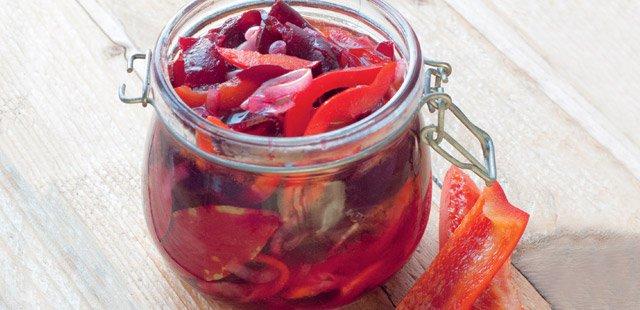 marynowane warzywa i owoce